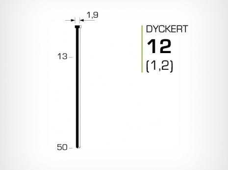 Dyckert 12 (1,2) till dyckertpistol