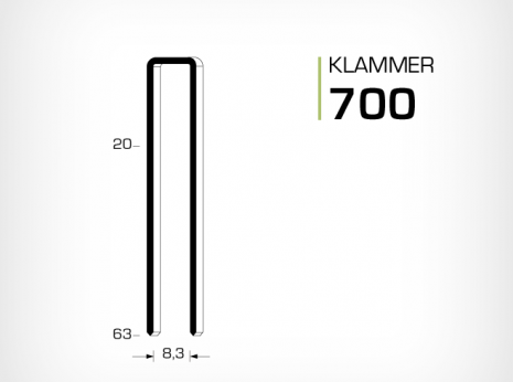 klammer 700