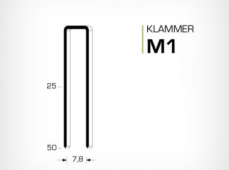 Klammer M1