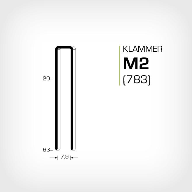 Klammer M2 och JK783