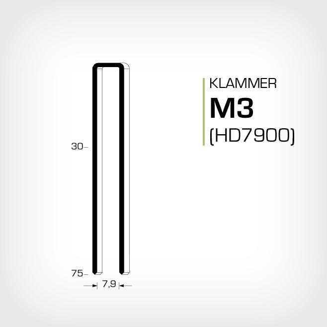 Klammer M3 och HD7900