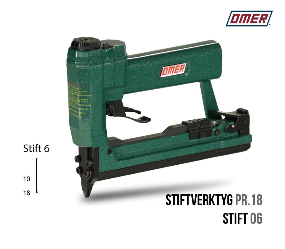Stiftverktyg PR.18 Stift 06