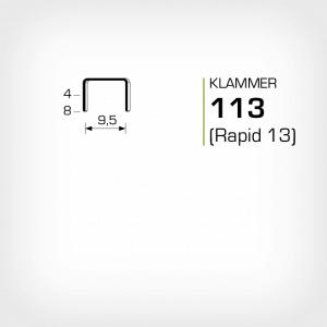 Klammer 113 Rapid 13