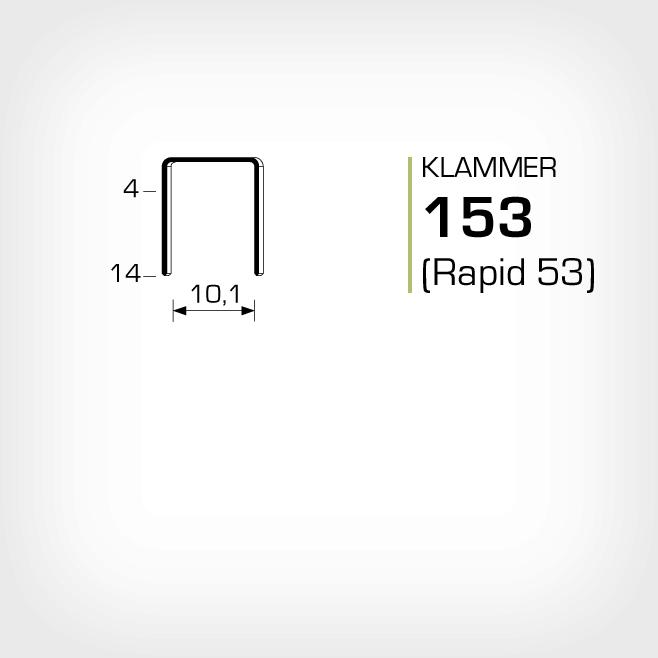Klammer 153 Rapid 53