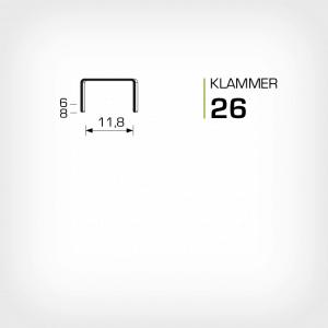 Klammer 26 rapid