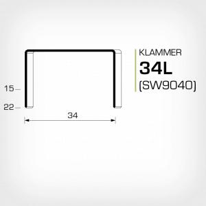 Klammer 34L och SW9040