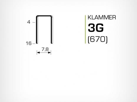 Klammer 3G (670)