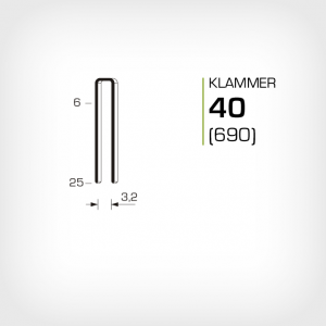 Klammer 40 eller 690