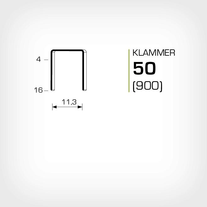 Klammer 50 haubold 900