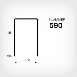 Klammer 590 och JK590