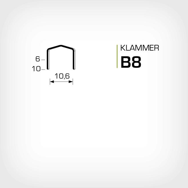 Klammer B8 och stcr2115