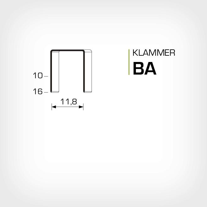 Klammer BA och SB103020