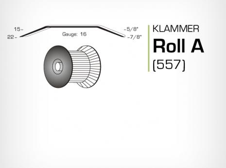 Klammer Roll A och JK557