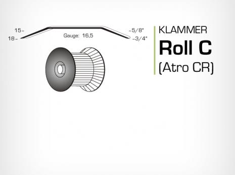 Klammer Roll C och Atro CR