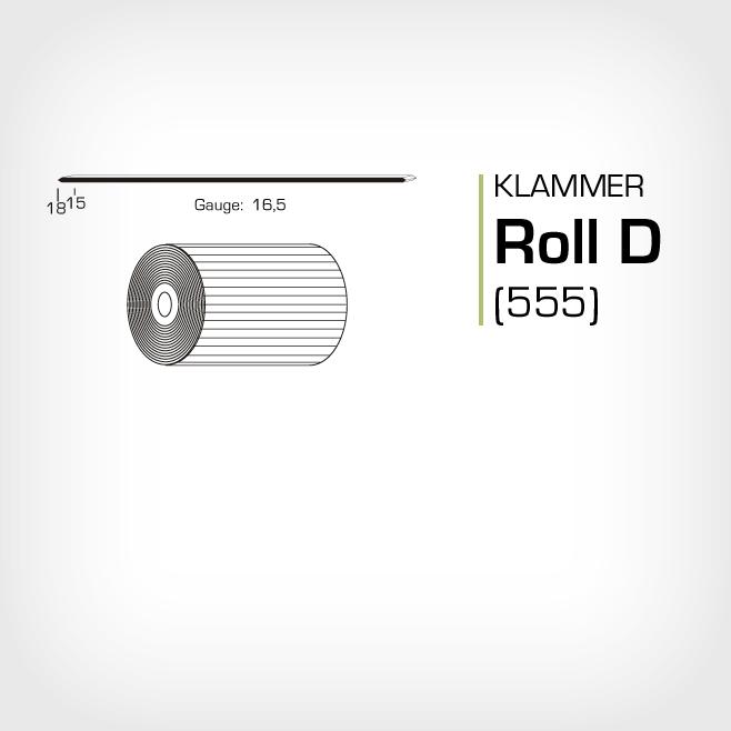 Klammer Roll D och JK555