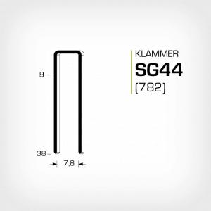Klammer SG44 och JK782