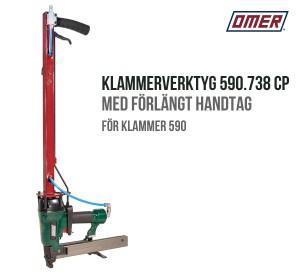 Klammerverktyg 590.738 CP med förlängt handtag