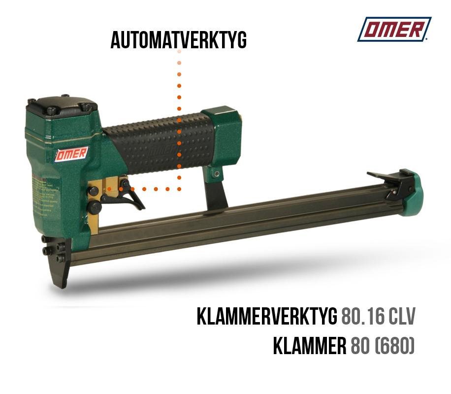 klammerverktyg 80.16 clv automatverktyg långt magasin