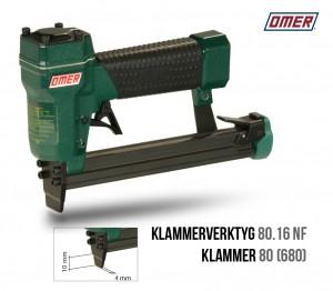 klammerverktyg 80.16 NF tunn nos klammer 680