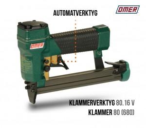 klammerverktyg 80.16 V automatverktyg 680