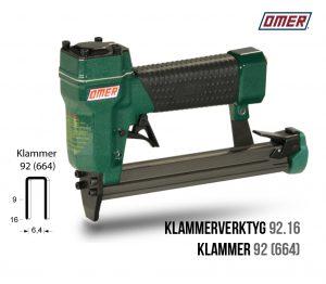 Klammerverktyg 92.16 för klammer 92 eller 664