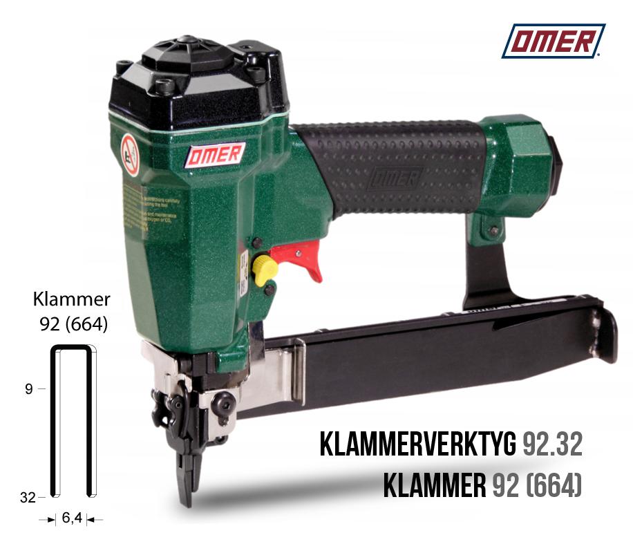 Klammerverktyg 92.32 för klammer 92 eller 664