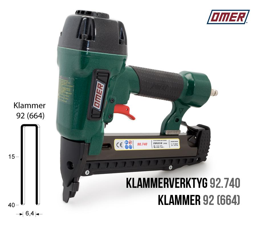 Klammerverktyg 92.740 för klammer 92 eller 664