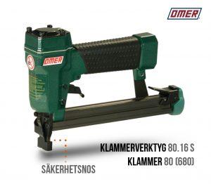 Klammerverktyg 80.16 S - Säkerhetsnos