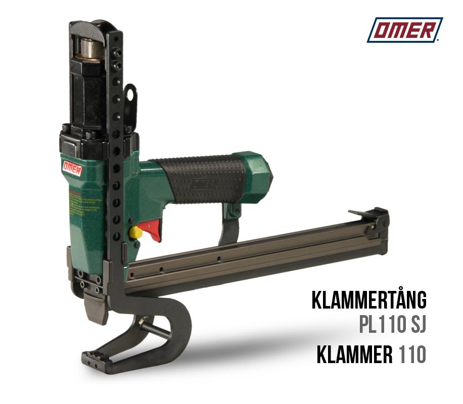 Klammertång PL 110 SJ för klammer 110