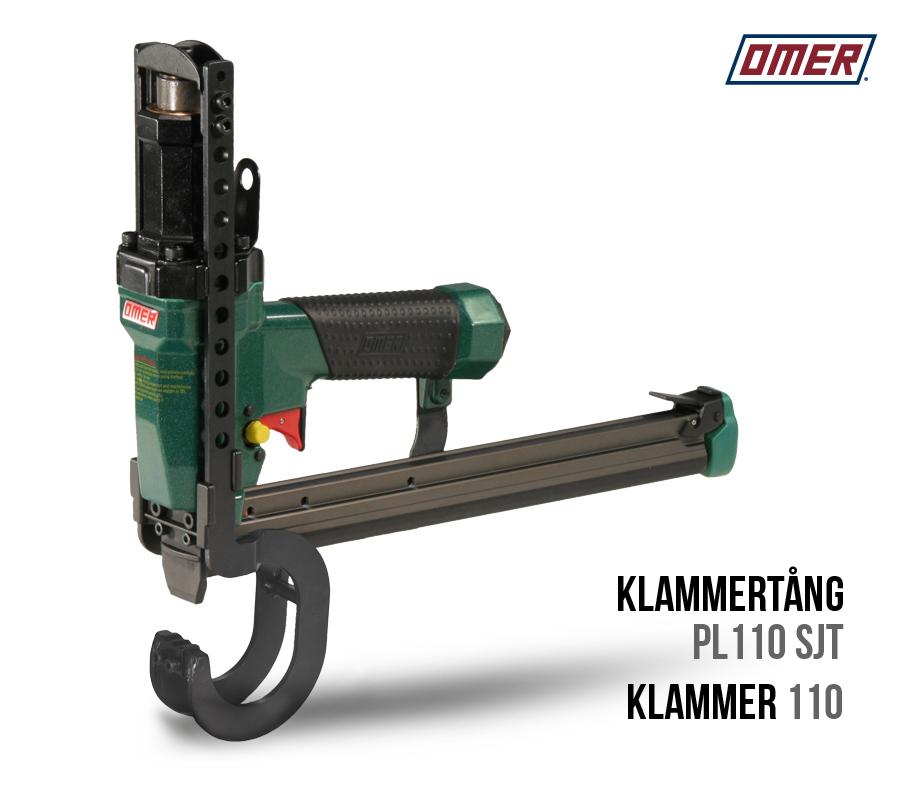 Klammertång PL 110 SJT för klammer 110