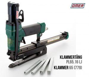 Klammertång PL 65.16 LJ för klammer-65 för kantskyddKlammertång PL 65.16 LJ för klammer 65 eller 779
