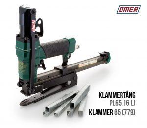Klammertång PL 65.16 LJ för klammer-65 eller 779