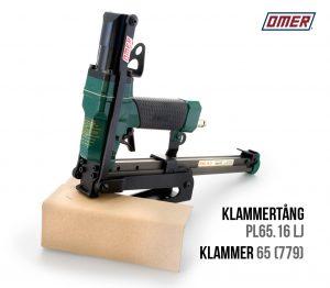 Klammertång PL 65.16 LJ för klammer 65 för kantskydd