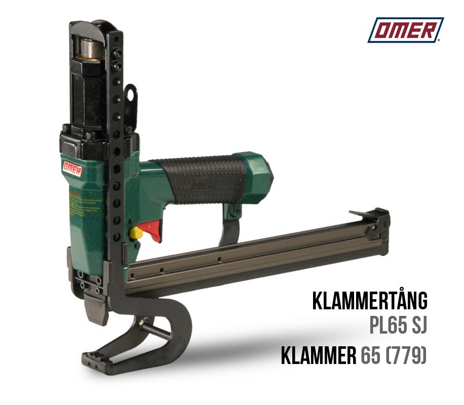 Klammertång PL 65 SJ för klammer 65 eller 779