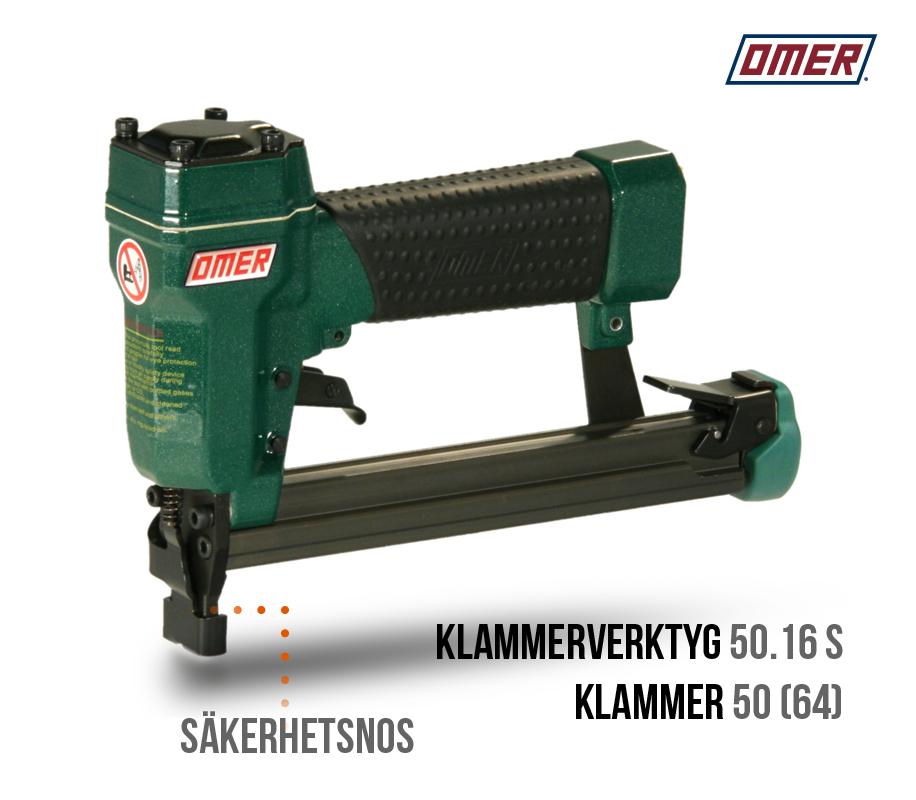 Klammerverktyg 50.16 s säkerhetsnos 50 eller jk64