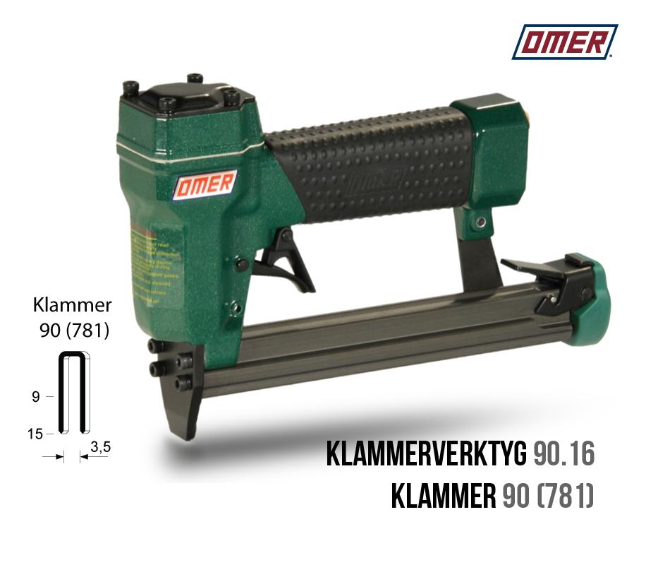 Klammerverktyg 90.16 klammer 90 eller 781