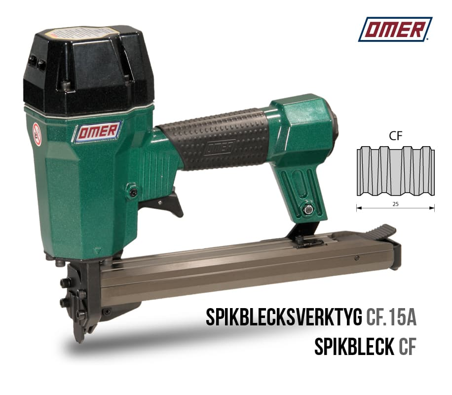 Spikblecksverktyg CF.15 A OMER spikbleckspistol
