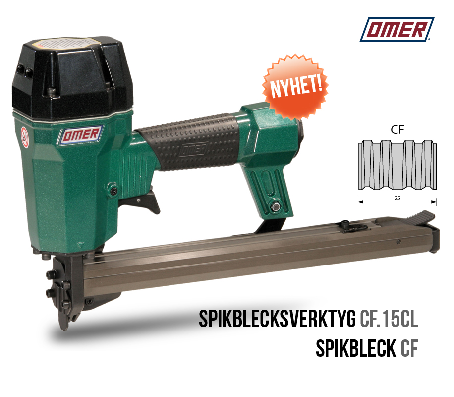 Spikblecksverktyg CF.15 CL OMER spikbleckspistol