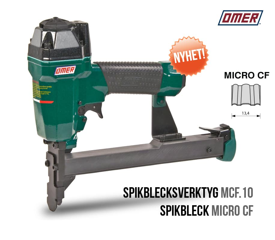 Spikblecksverktyg MCF.10 OMER spikbleckspistol