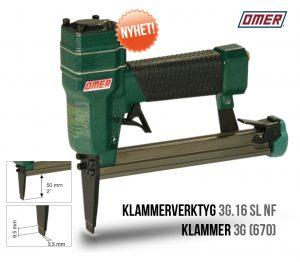 Klammerverktyg 3G.16 SL NF Lång Tunn nos klammer 3G och 670