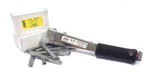Aluminiumklammer häfthammare G11 från OMER