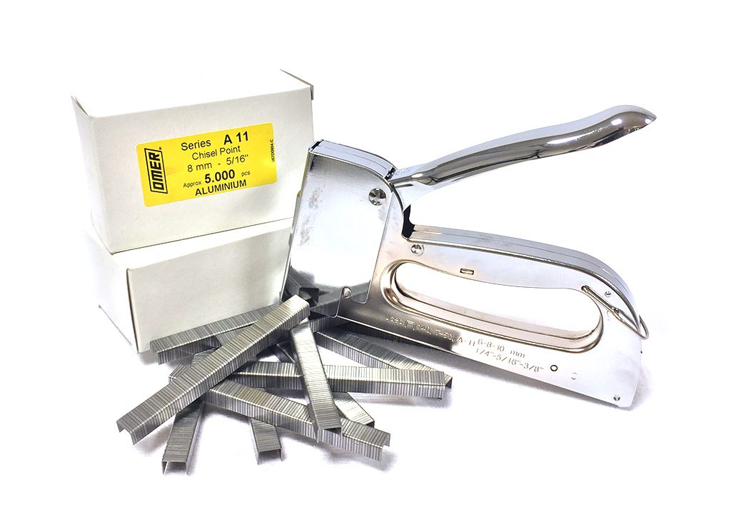 Aluminium-klammer häftpistol G14 från OMER